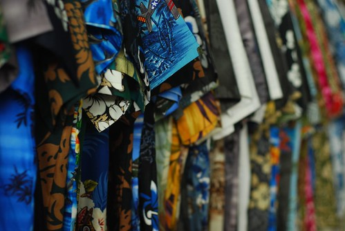 Can you imagine a Japanese businessman wearing on of these Hawaiian shirts?