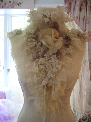 Vintage Bride Dress Form