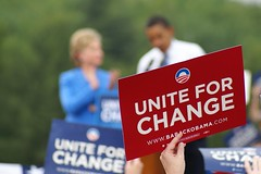 Unite for Change (soft focus)
