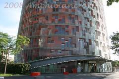 torreAgbar (amphibiancrow) Tags: barcelona agbar