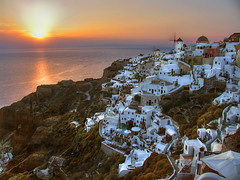Oia (Ns da Montanha) Tags: sunset pordosol sea hellas santorini greece oia cyclades ireneschmidt