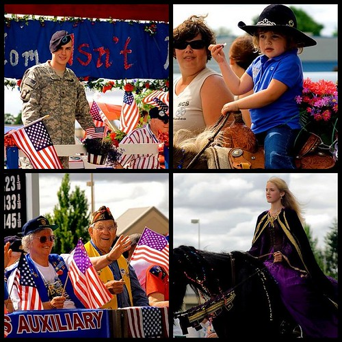 2008 4th Of July Parade in Stayton Oregon