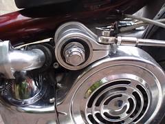prides torque arm mount (mark & anne's photos) Tags: vespa rally scooter lambretta scooters custom scooterrally bretta ronniebiggs