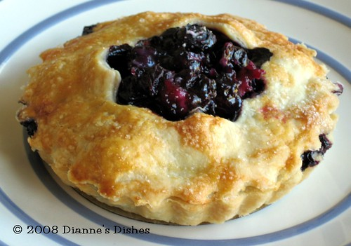 Tuesdays with Dorie: Double Crusted Blueberry Pie