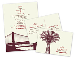 I Heart New York Invitations
