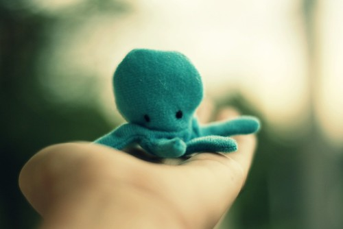 Mr. Octopus, I love you! by (Christine).