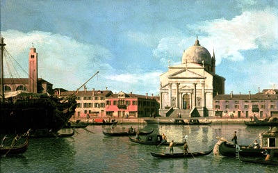 Redentore by Canaletto