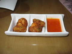 Highline: Shrimp and chicken fritters