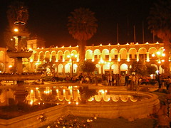 Arequipa at Night