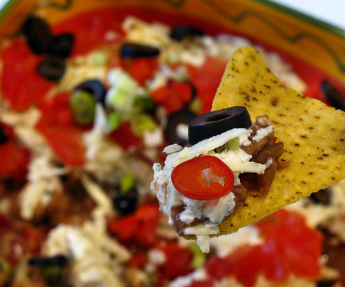 Mexican layered dip 4192 R