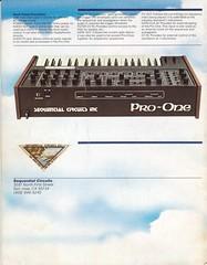 SCI Pro-One 說明書 + 照片