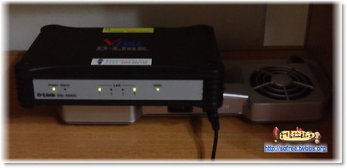 筆電散熱板+vdsl光纖網路