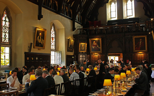 Lunch in Merton Hall