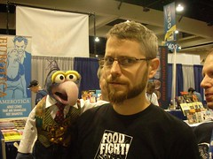 Me and Gonzo! (I'm the one on the right)