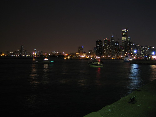 Downtown from Navy Pier