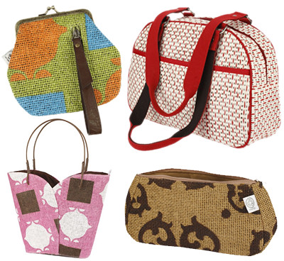 Engage Green Recycled Handbags