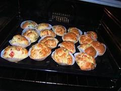 Muffins salati in forno