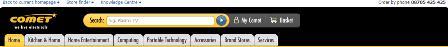 Comet - new search box