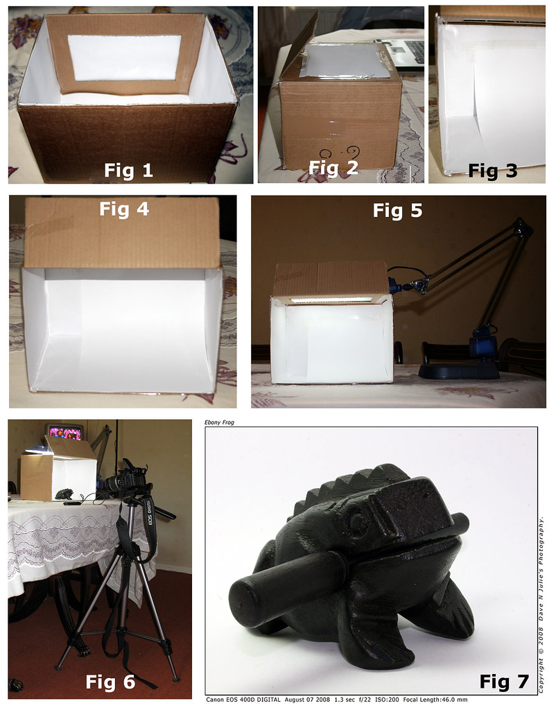 How To Make A Lightbox For Pennies