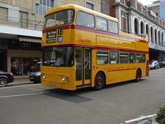 Bournemouth Fleetline 163 (GRU163V) (Deltabus) Tags: bournemouth fleetline opentop
