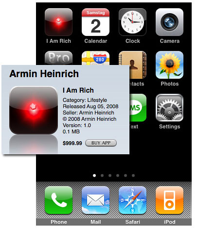 I Am Rich iPhone App