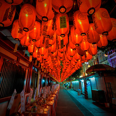 Chinatown - Singpore  lanterns (sgluskoter) Tags: travel singapore chinatown lanterns 5photosaday travelon5photosaday