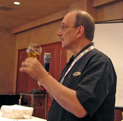 Paul Pacult, describing his tasting process