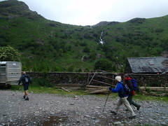 Heading out from Seathwaite Farm (Seathwaite, United Kingdom) Photo
