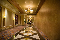 The Venetian Macau () - Long Corridor (My Hourglass) Tags: world venice light building mall shopping hotel nikon asia long d70s corridor casino structure resort strip theme venetian macau renaissance largest  cotai cotaistrip