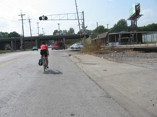 KC Bike Commuting  August 2008