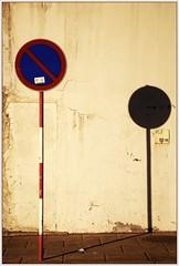 (ART-Ko) Tags: shadow portugal trafficsign madeira flickrchallengegroup flickrchallengewinner