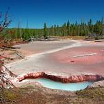 Artists Paintpots trail - Yellowstone National Park