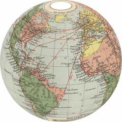 air-routes-1920 globe