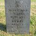 gravestone Mary Ann Lydia Cole