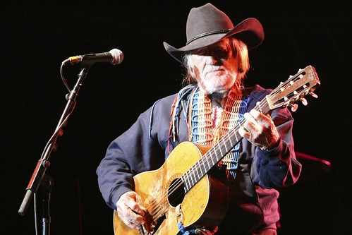 Willie Nelson at Dimmick Ranch