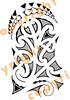 Maori shoulder tattoo 3 A flowing Kirituhi