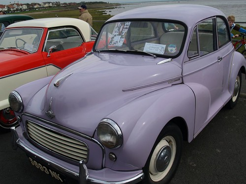 Morris Minor 1000000 - Limited Edition only produced in one color (Lilac) to Celebrate Over a Million made in 1961