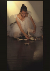 The fascination of ballet (steffi's) Tags: ballet dance ballerina dancer tanz tutu orton ballett pointeshoes zh spitzenschuhe ortoneffect