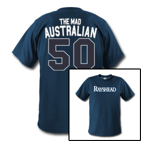 [THE RAYSHEAD ARMY] The Mad Australian Debuts In The Rays Index Store
