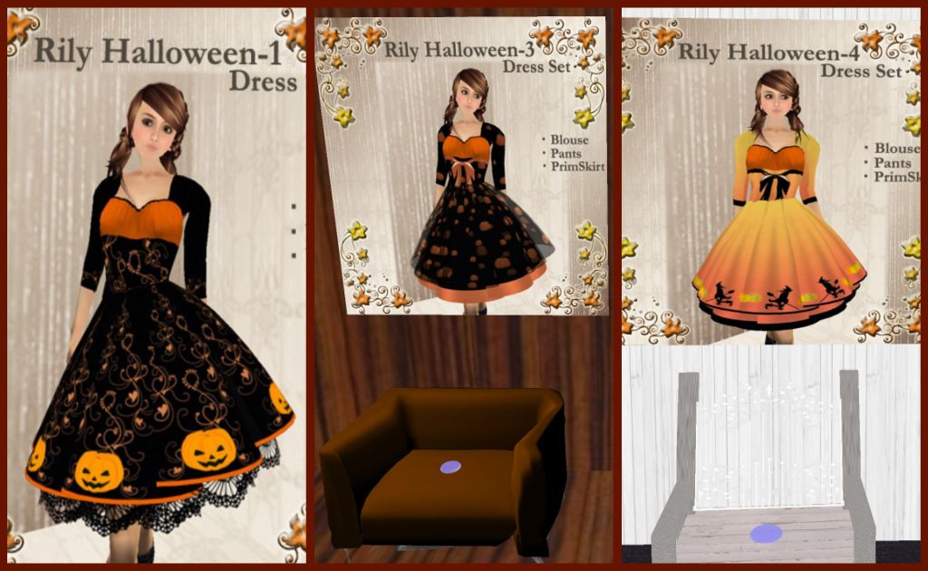 Rily Halloween Dresses