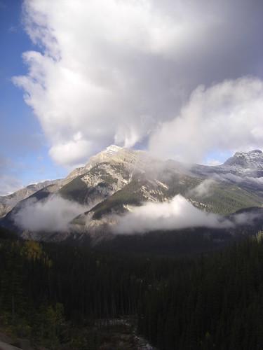 Ein Berg am Rogers Pass.