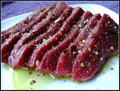 Kobe Beef Brisket Marinating