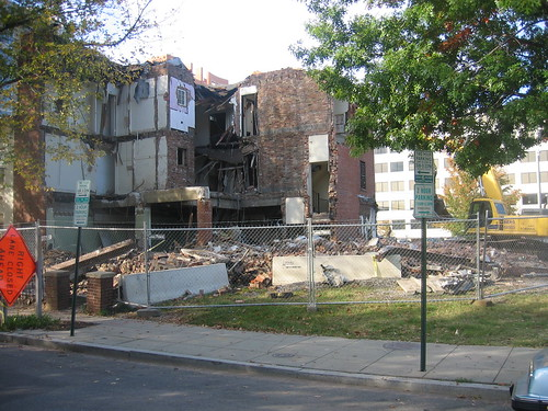 Demolition of 914 3rd St NW