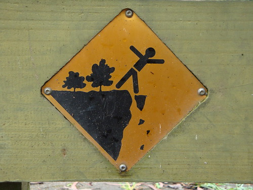 Stick figure in peril in Blue Mountains