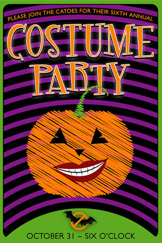 Halloween '08 party invite
