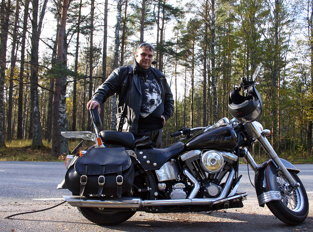 Photos From Haninge: The Harley Man