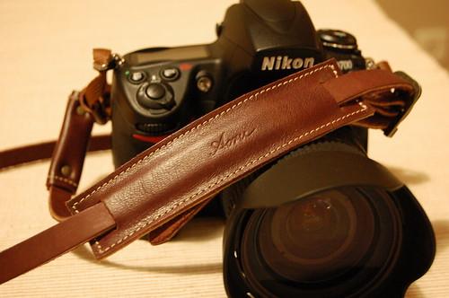 acruのカメラストラップ