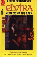 Elvira, Mistress of the Dark #16 cover