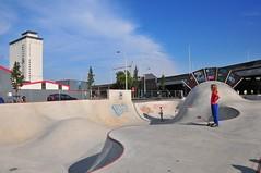 Skatepark - Park Spoor Noord (antwerpenR) Tags: park belgium belgique belgie places skatepark skate skateboard antwerp girlz antwerpen amberes anvers spoor noord skatergirl 5photosaday tweeduizend girlskater 1802000mmf3556 rogerwp antwerpenr