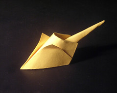 Simple Mouse / Chut (ORI_Q) Tags: new wet paper mouse origami year folded 2008 folding tien hoang mi quyet nm tt chut giy t gp htquyet